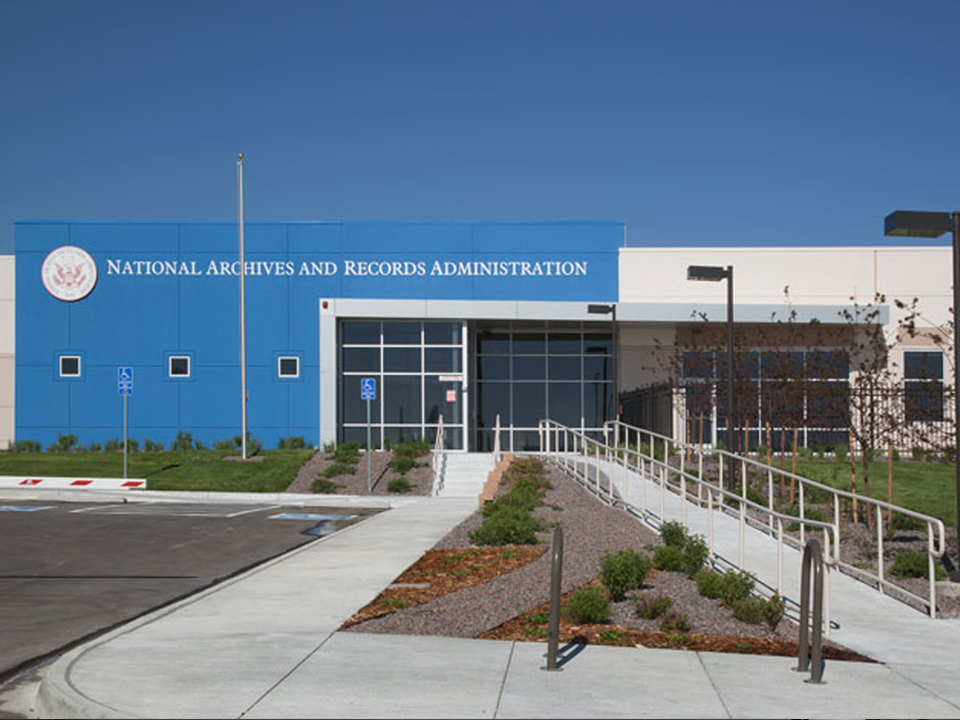 National Archive and Records Exterior Broomfield